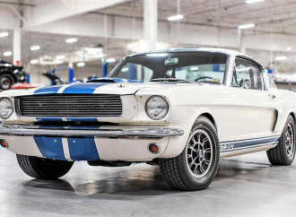Carroll Shelby's own GT350H fastback to be offered by Bonhams in Arizona