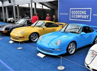 High-performance Porsche specials highlight Gooding sale on Amelia Island