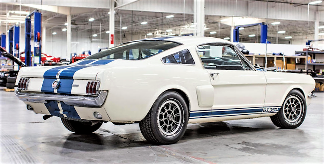 Carroll Shelby's own GT350H offered by Bonhams in Arizona | ClassicCars