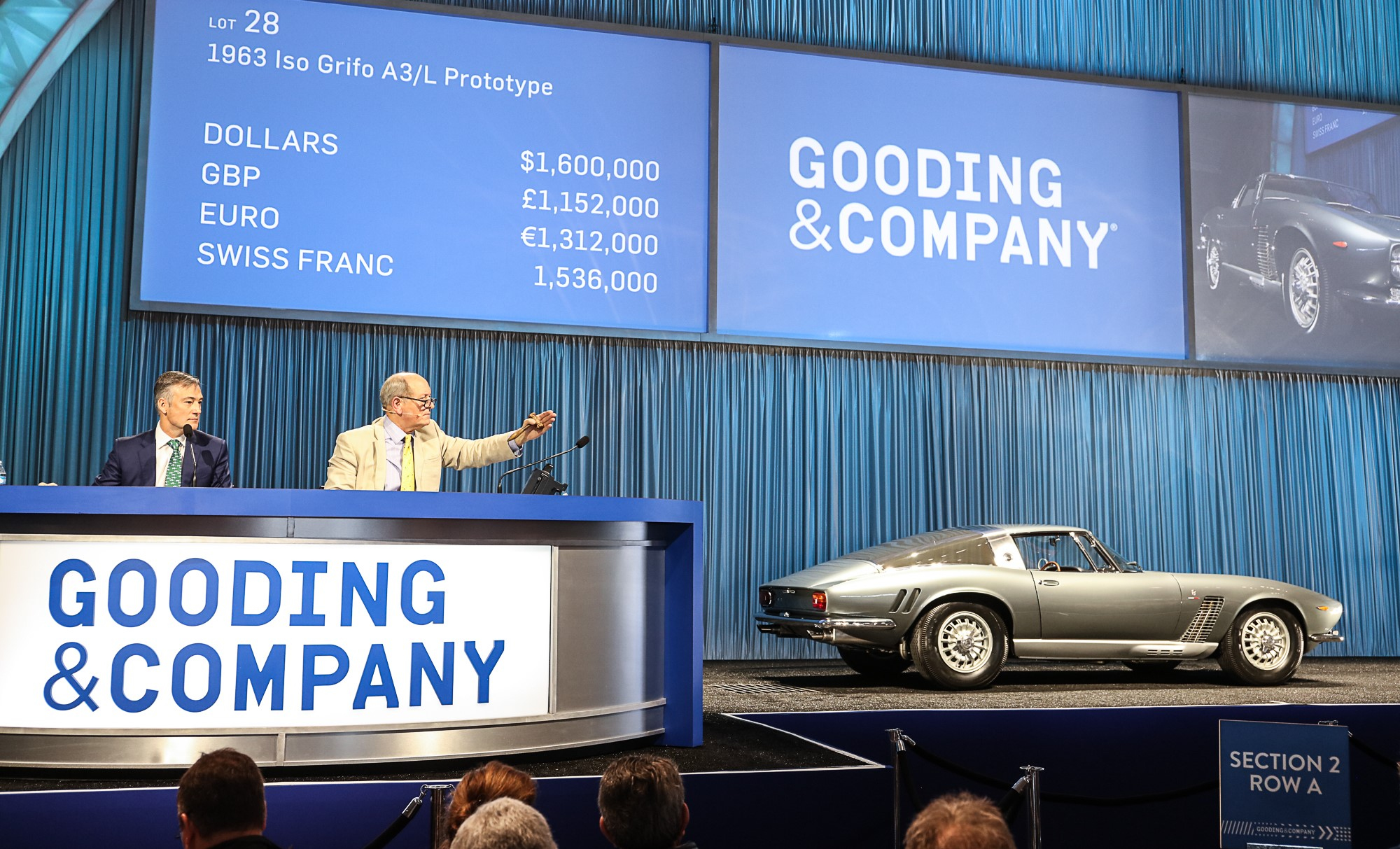 , Stunning Iso Grifo prototype surprises and delights at Gooding sale, ClassicCars.com Journal