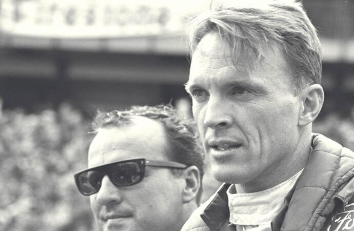The day I gave up the driver's seat to Dan Gurney