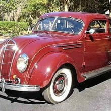 Streamlined 1935 DeSoto Airflow SG