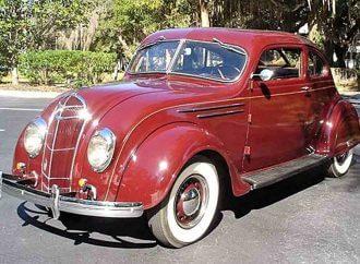 Streamlined 1935 DeSoto Airflow SG
