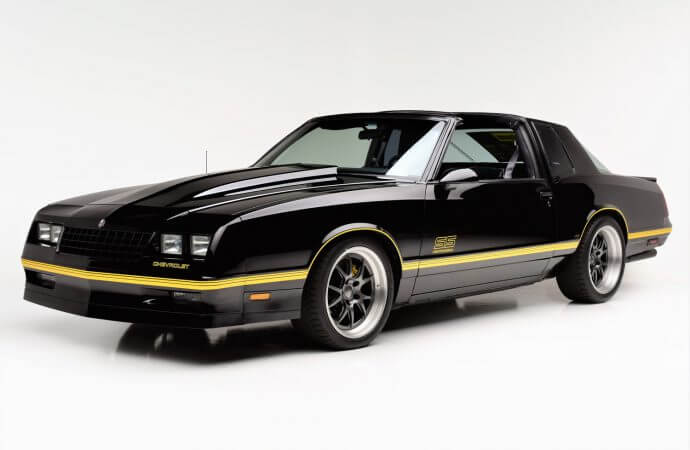 Resto-mod Chevy Monte Carlo to be sold by Barrett-Jackson to aid cancer research