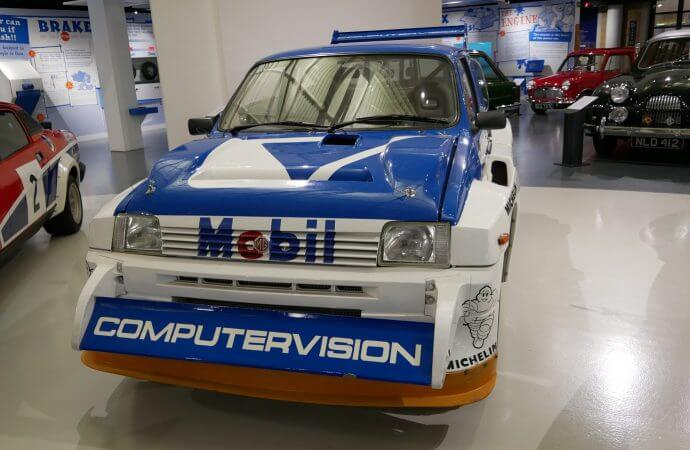 Historic rally cars featured at British museums