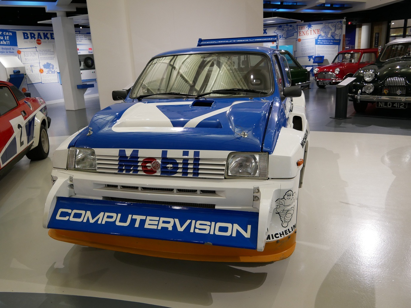 Historic rally cars featured at british museums for Motor vehicle open on saturday