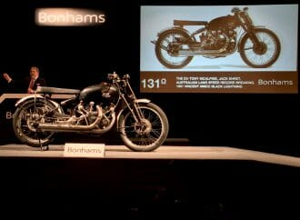 Bonhams sets record for highest motorcycle price at auction