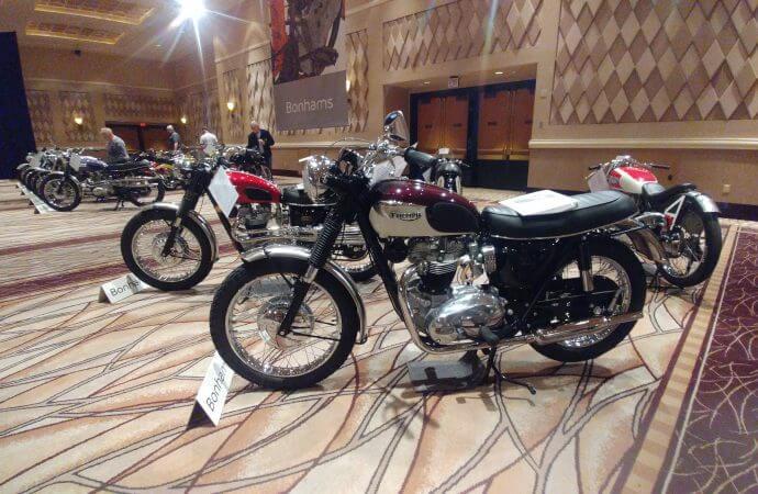 Andy picks his favorites at Bonhams' motorcycle auction