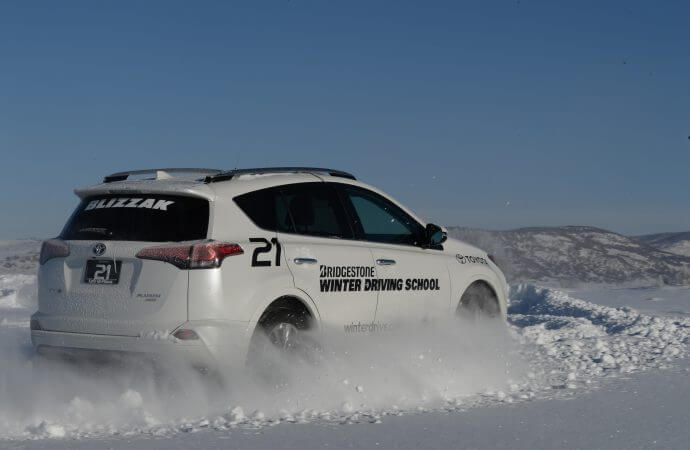 Bridgestone offers winter-driving classes