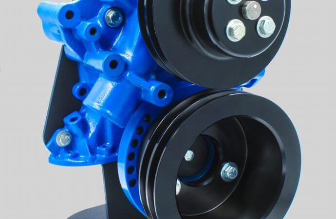 Vintage Air introduces billet pulleys for small block Ford engines