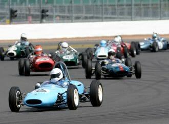 Vintage Formula Junior racers wrap up anniversary tour at Silverstone