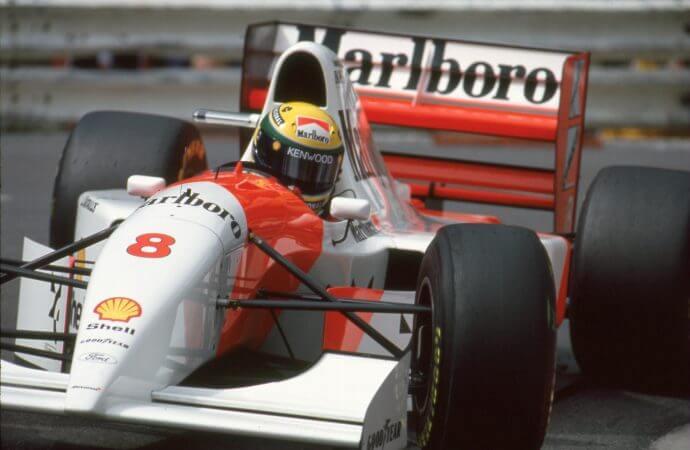 25 years later, Senna's Monaco-winning McLaren heads to auction