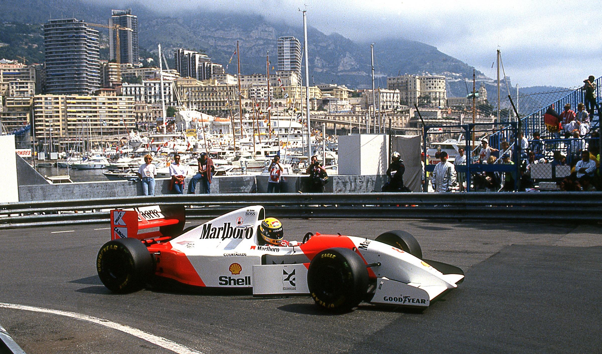 25 Years Later Senna S Monaco Winning Mclaren Heads To