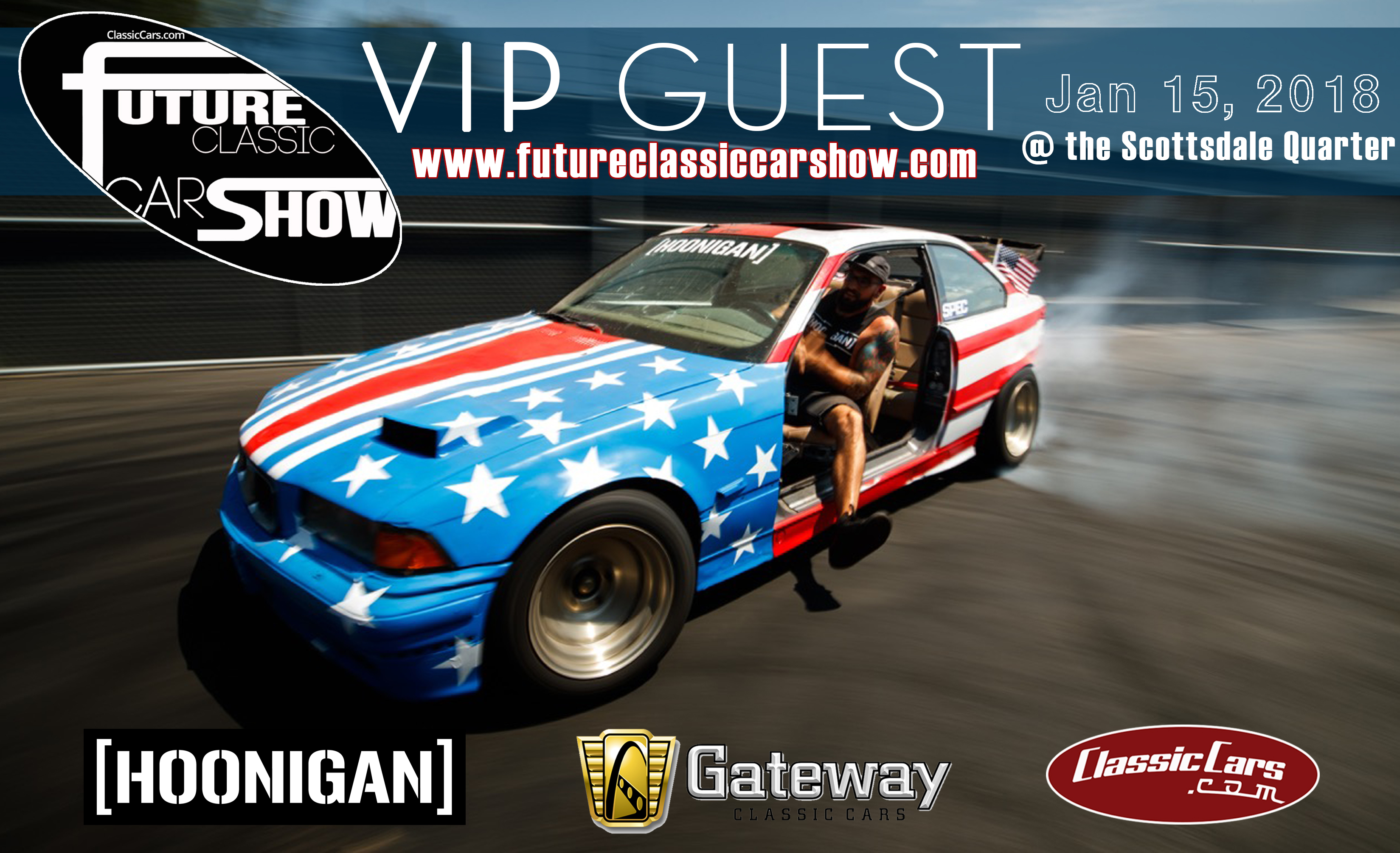 Hoonigan Heroes Coming To Future Classic Car Show ClassicCars - Scottsdale classic car show