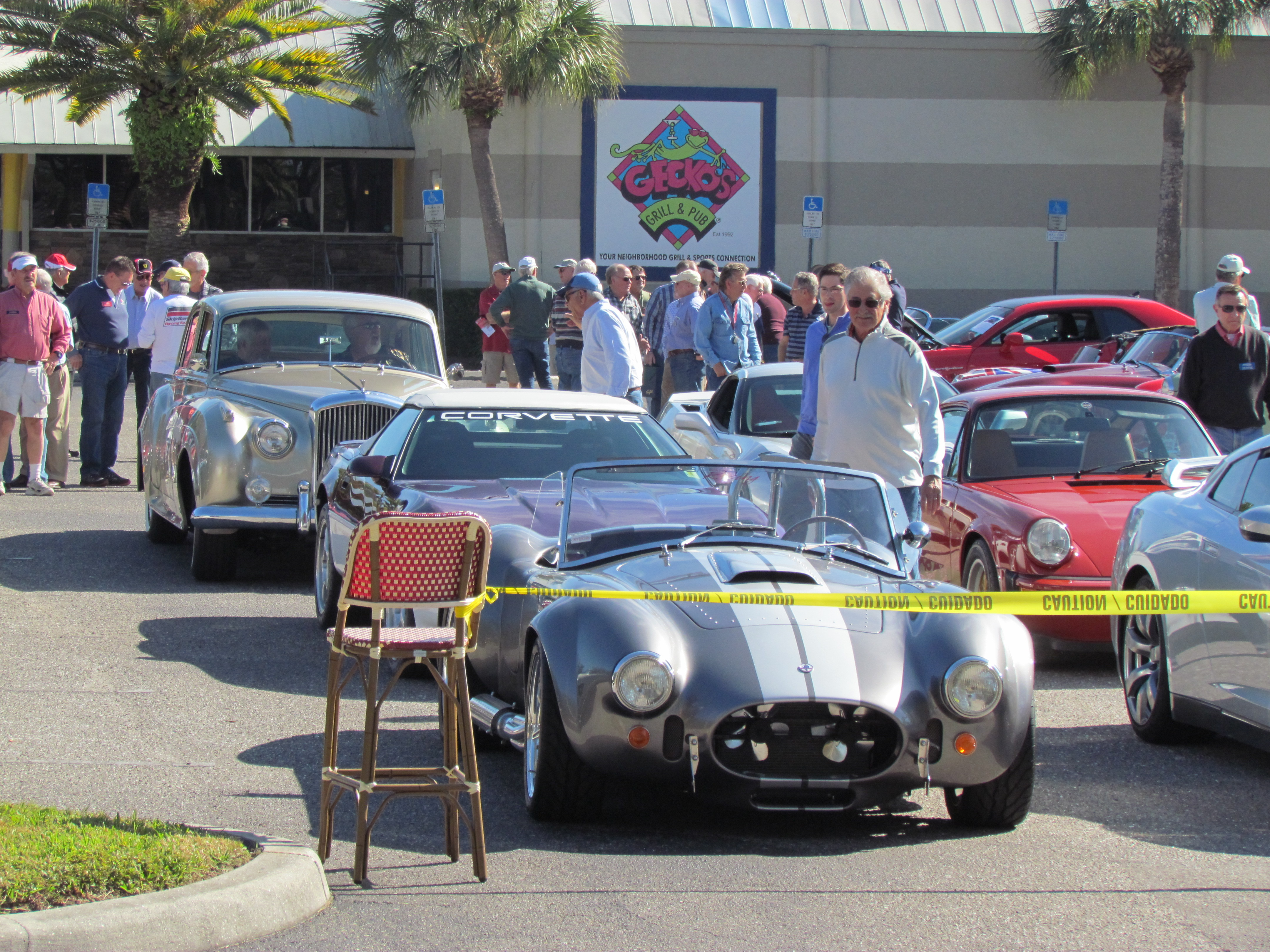Lunch bunch: Car guys meet to eat — and talk — in Sarasota, Florida ...
