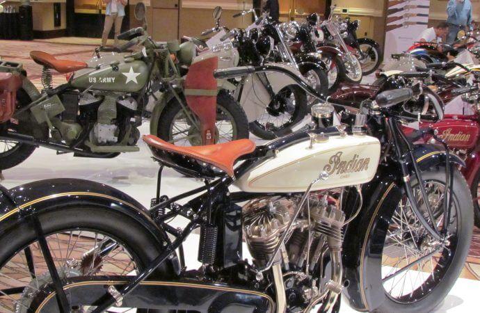 Bonhams hits $2.86 million at Vegas motorcycle auction