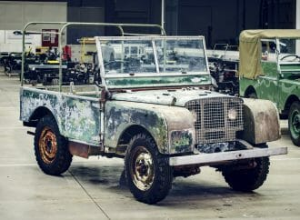 Land Rover discovery: Original 4×4 found after 63 years