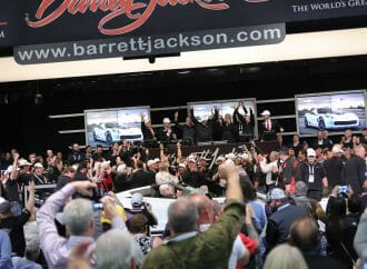 Former President Bush helps Barrett-Jackson reach charity milestone