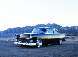1955 Chevy Sedan: One for the win column