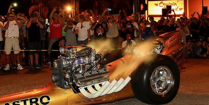 Vintage dragsters added to Laguna Seca's Spring Classic