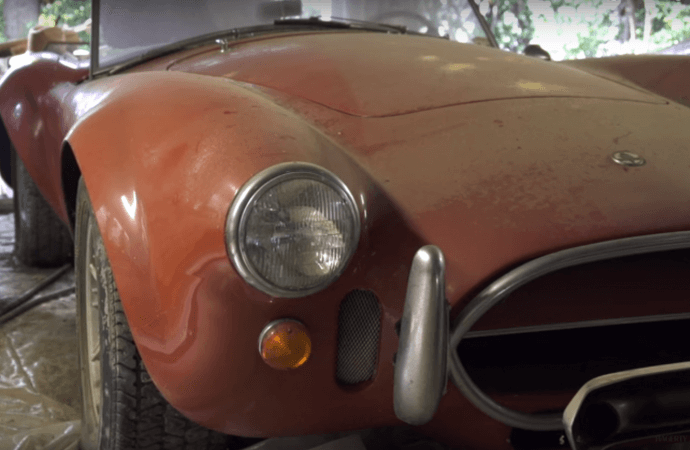 Tag along on $4 million Ferrari and Cobra barn find