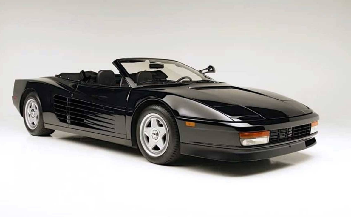 Michael Jackson driven Ferrari Testarossa for sale | ClassicCars