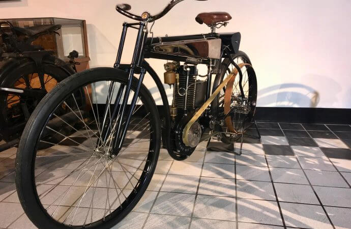 Packard museum opens annual motorcycle exhibit