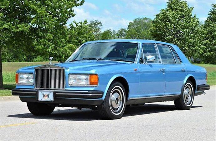 Cheap luxury '81 Rolls-Royce Silver Spirit