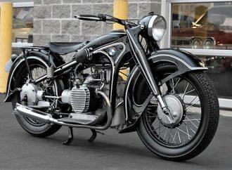 Rare pre-war 1939 BMW R12 motorcycle