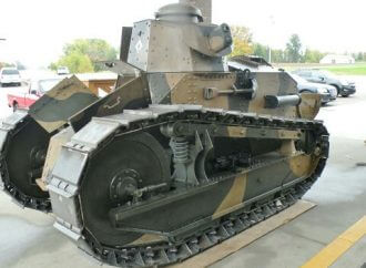 Restoring a WWI Tank – Without a Blueprint