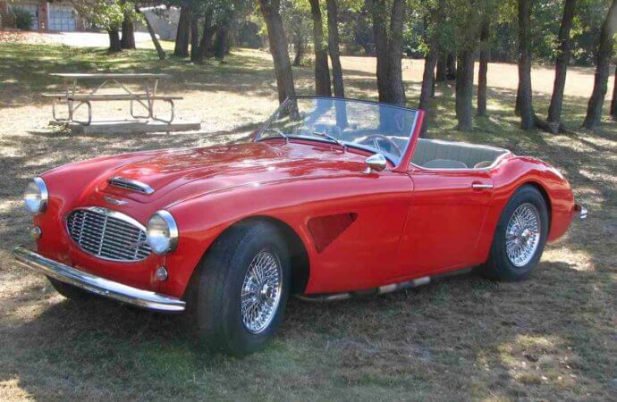 Family owned since '61 Austin-Healey 3000