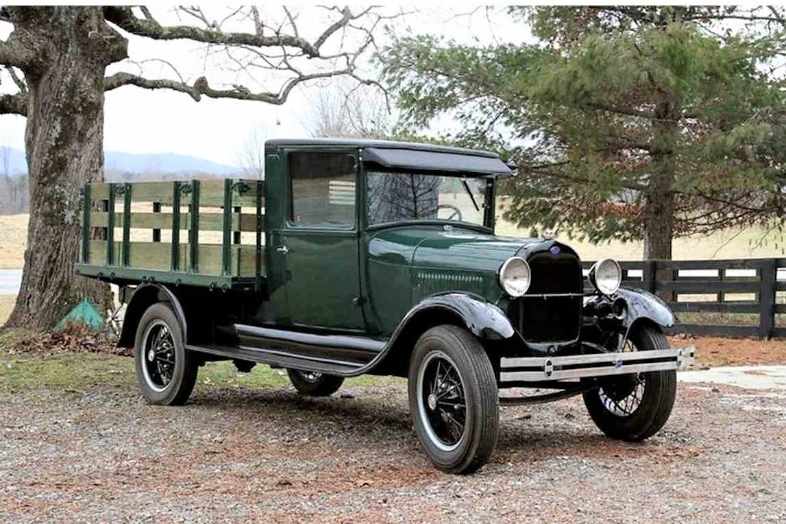 Early workhorse 1928 ford model aa