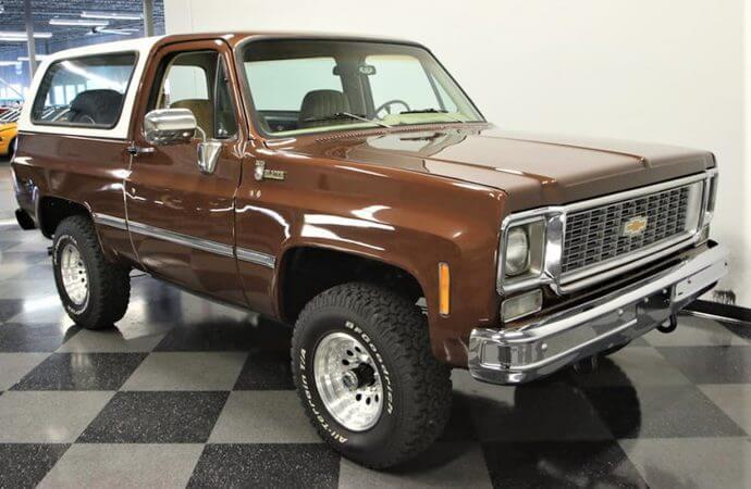 Mighty 1977 Chevrolet K5 Blazer