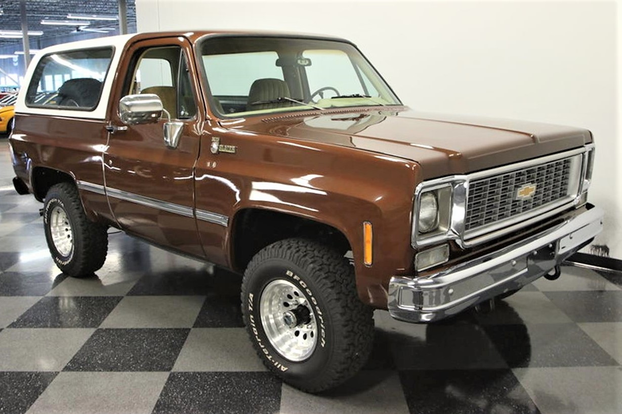 Mighty 1977 Chevrolet K5 Blazer