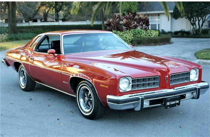 Low-miles survivor 1975 Pontiac LeMans