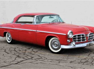 Rare survivor 1955 Chrysler 300 coupe