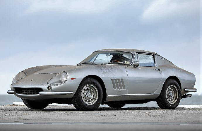 'Barn-find' gems: Ferrari, Cobra rescued, set for Gooding's Amelia Island auction
