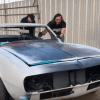'SkidMarks Show' host Jeff Allen restoring 1967 Camaro for charity