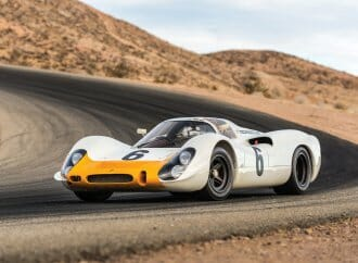 Historic Porsche factory racer joins RM Sotheby's Monterey sale docket
