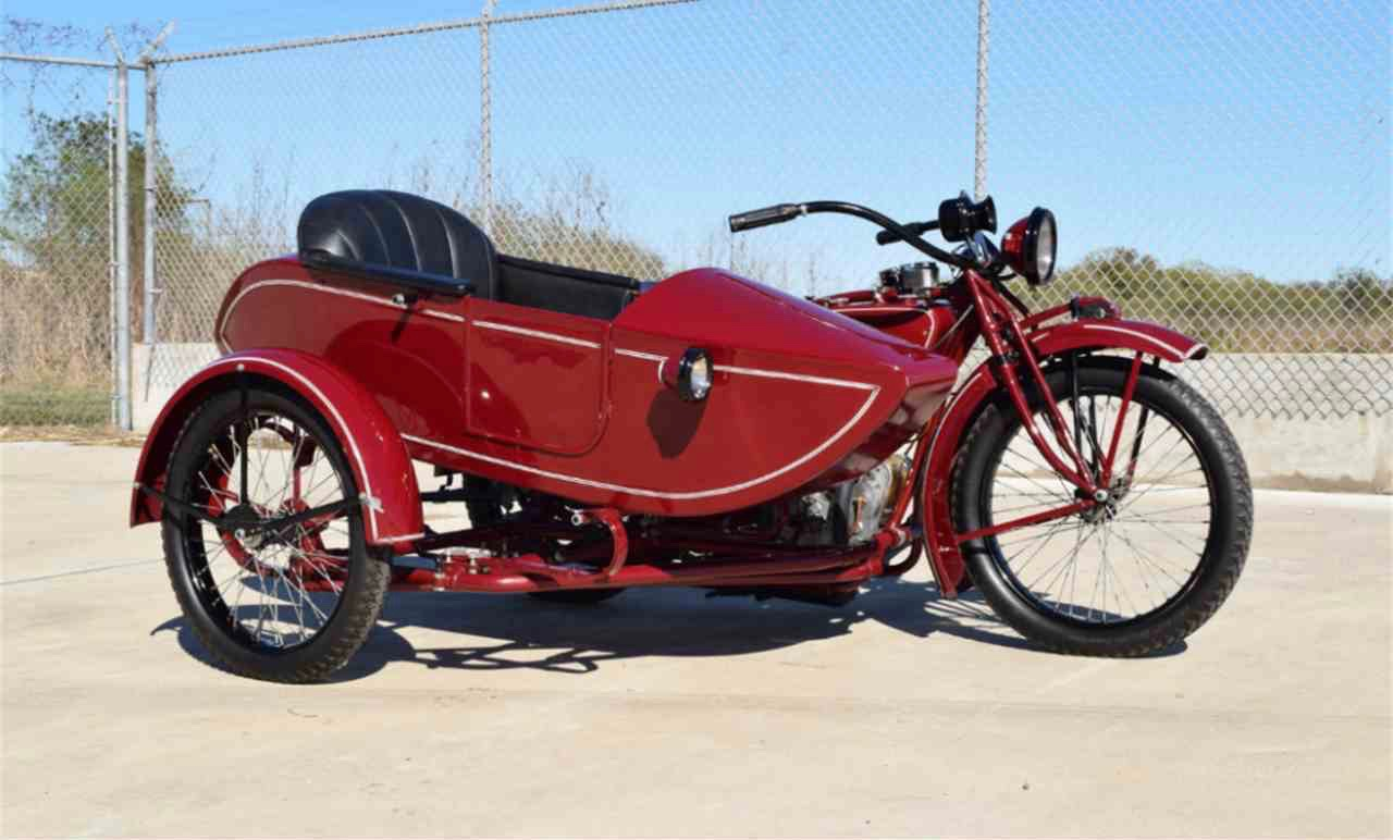 Ex-Steve McQueen '23 Indian and sidecar | ClassicCars.com Journal