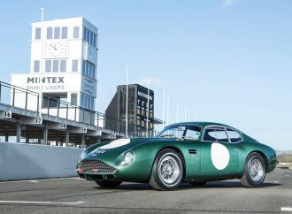 Ex-Jim Clark Aston Martin DB4GT Zagato on Bonhams' Goodwood docket