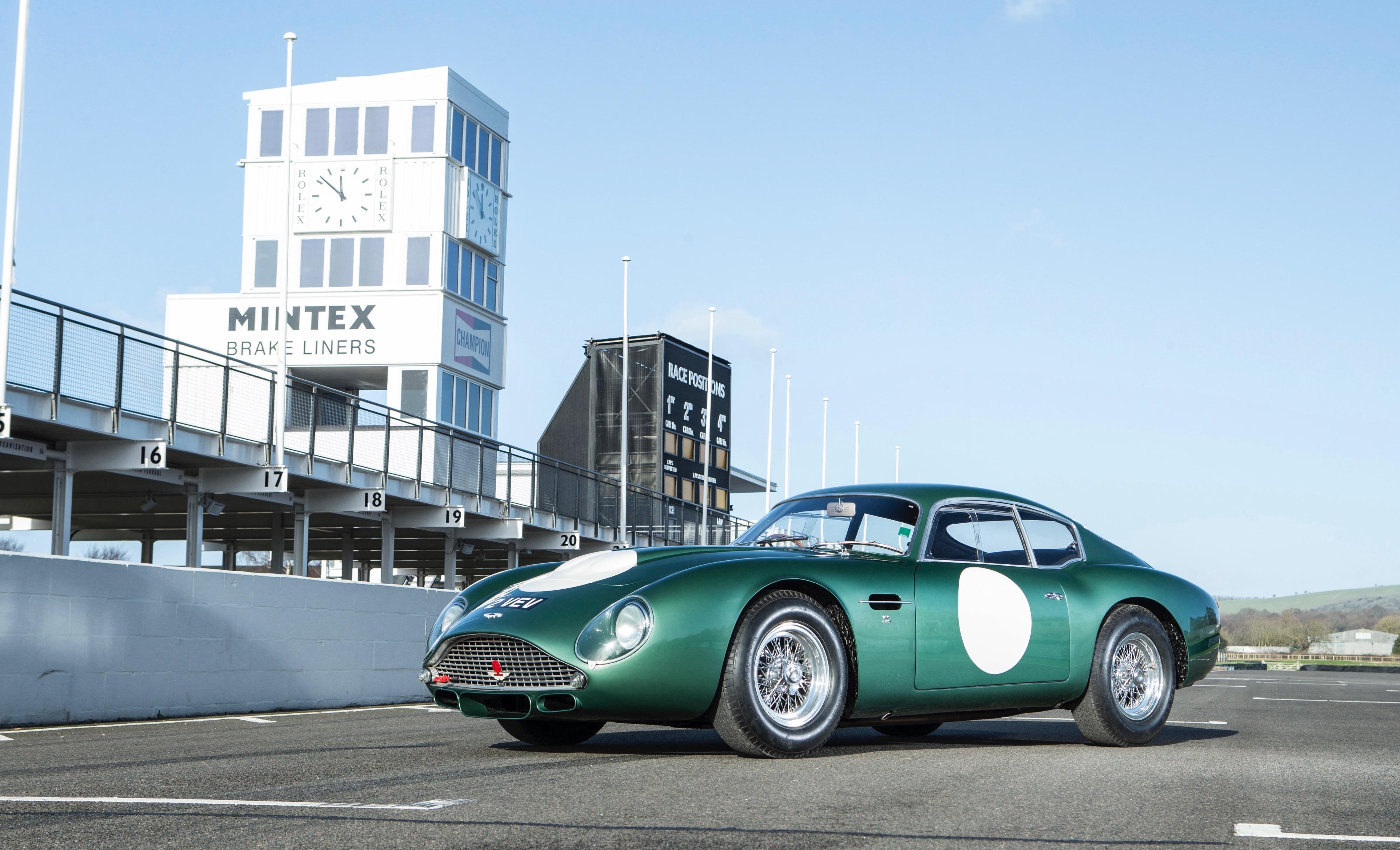 Ex-Jim Clark Aston Martin DB4GT Zagato on Bonhams' Goodwood docket