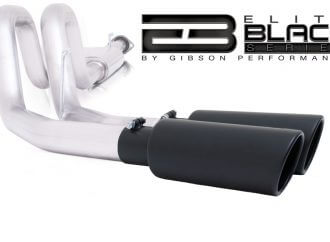 Gibson Performance Exhaust launches Black Elite Series