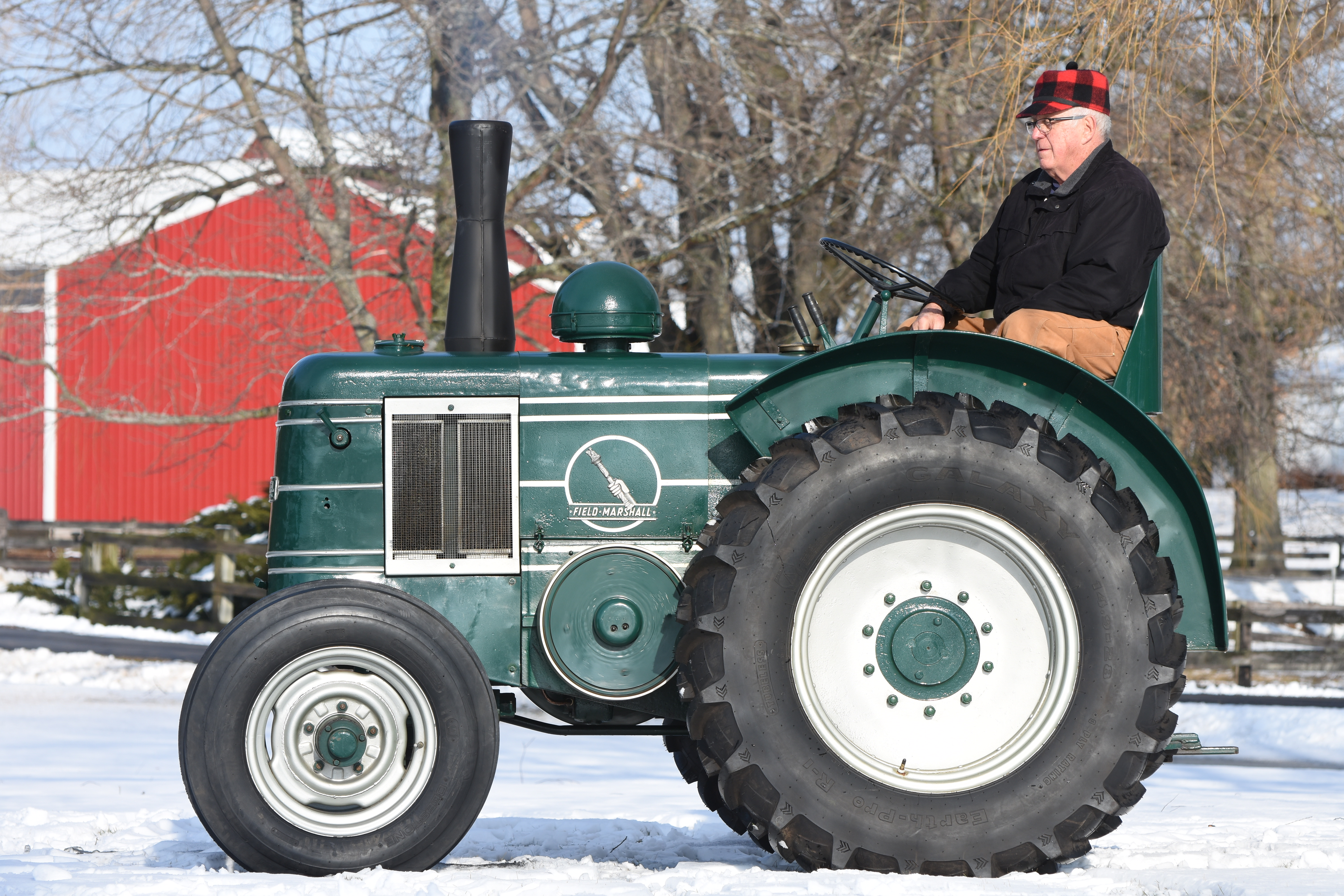 This tractor starts with a bang! Mecum Gone Farmin' | ClassicCars.com