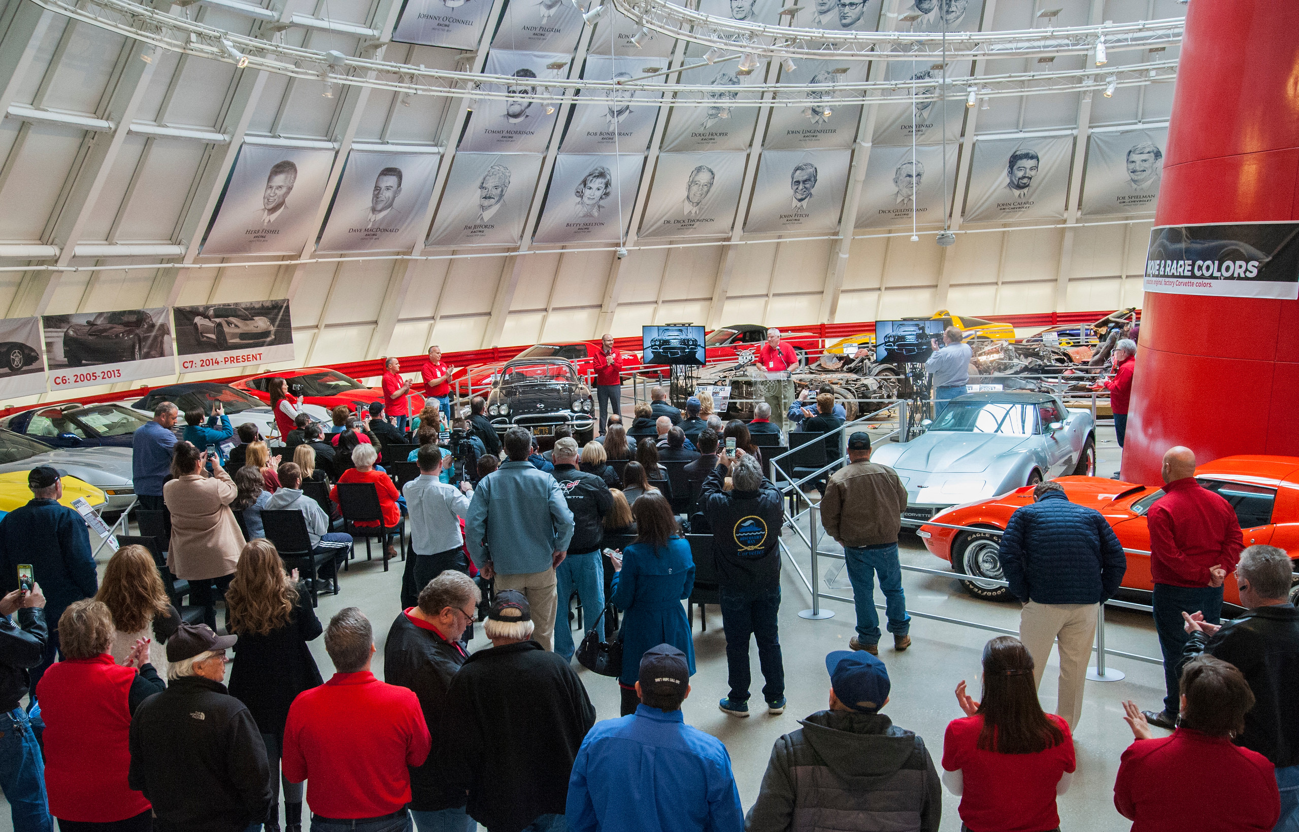 Final sinkhole Corvette returns to Skydome display | ClassicCars.com