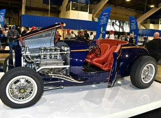 Concours indoors selects America's Most Beautiful Roadster