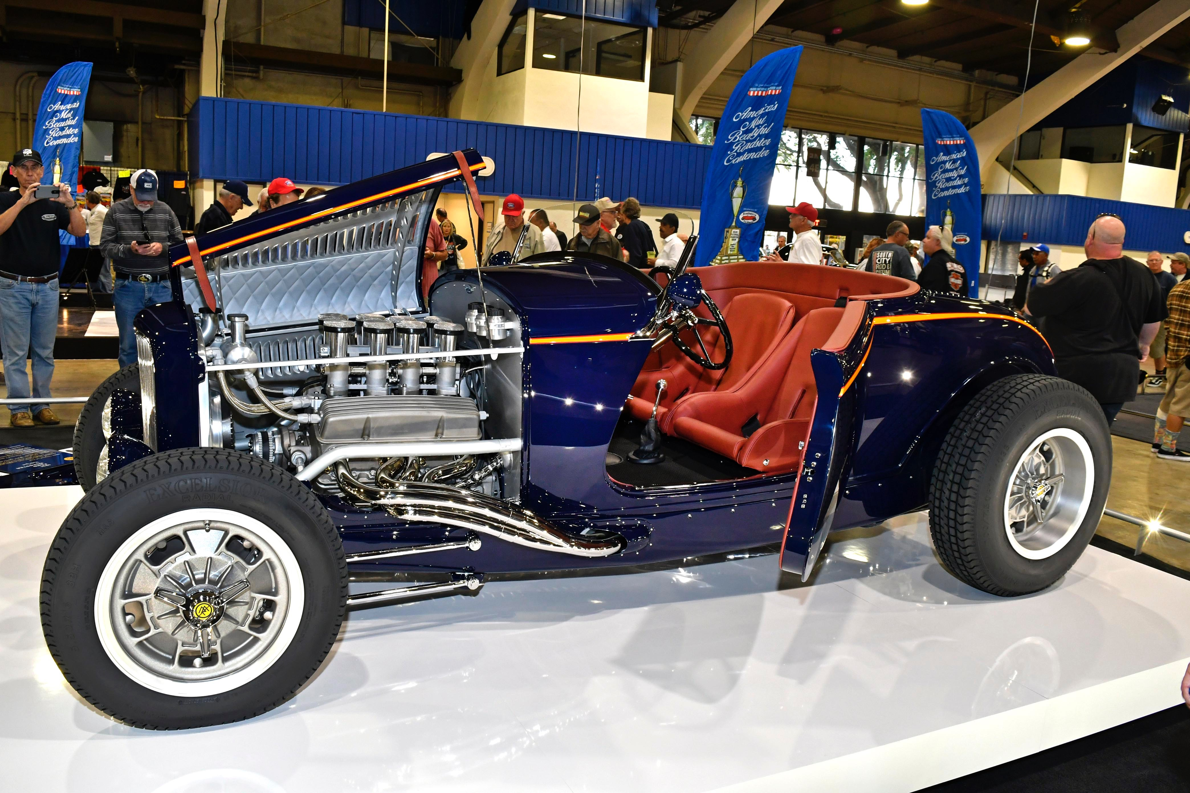 Concours indoors selects America\'s Most Beautiful Roadster ...