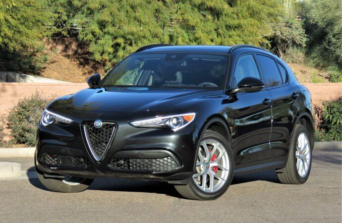 All-new 2018 Alfa Romeo Stelvio SUV