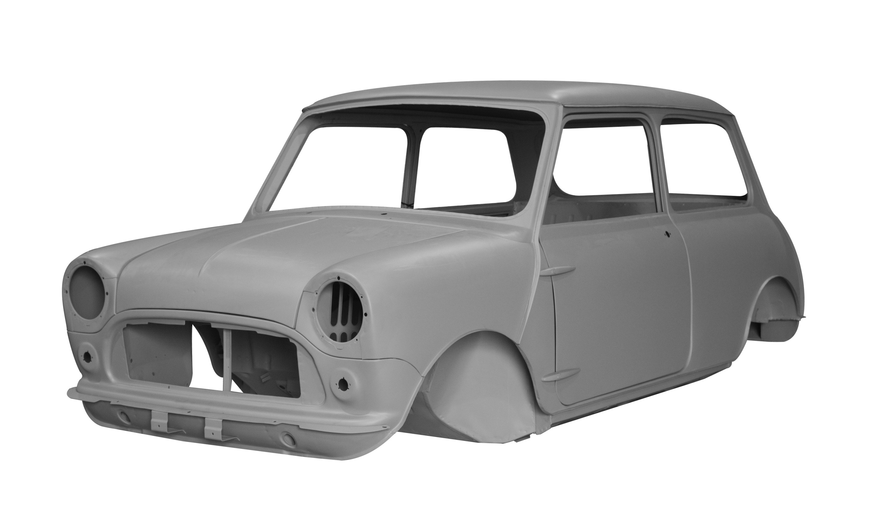 Need a new body for your vintage Mini? Or MGB 5-speed gearing?