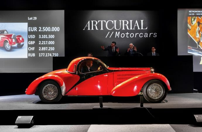 Artcurial does $38.8 million in Paris even without Le Mans-winning Ferrari